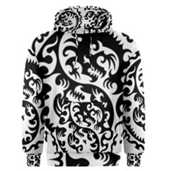 Ying Yang Tattoo Men s Pullover Hoodie