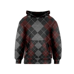 Wool Texture With Great Pattern Kids  Pullover Hoodie