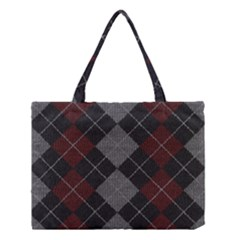 Wool Texture With Great Pattern Medium Tote Bag