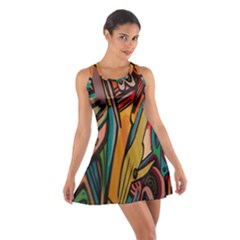 Vivid Colours Cotton Racerback Dress