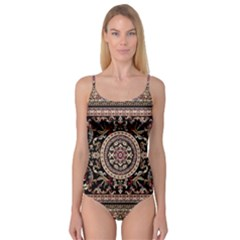 Vectorized Traditional Rug Style Of Traditional Patterns Camisole Leotard