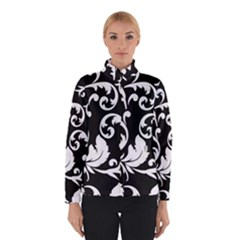 Vector Classicaltr Aditional Black And White Floral Patterns Winterwear