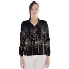Elegant dandelions  Wind Breaker (Women)