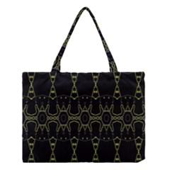 Black Wand Medium Tote Bag