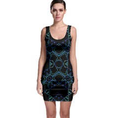 Hum Ding Sleeveless Bodycon Dress