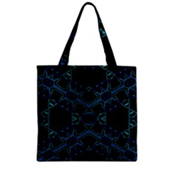 Hum Ding Zipper Grocery Tote Bag