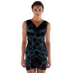 Hum Ding Wrap Front Bodycon Dress