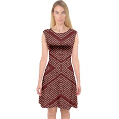 Gggfgdfgn Capsleeve Midi Dress