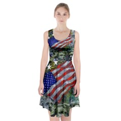 Usa United States Of America Images Independence Day Racerback Midi Dress
