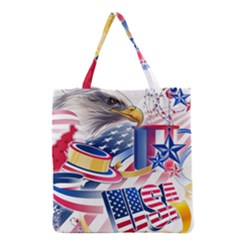 United States Of America Usa  Images Independence Day Grocery Tote Bag