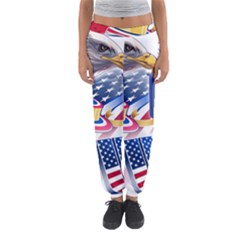 United States Of America Usa  Images Independence Day Women s Jogger Sweatpants
