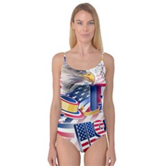 United States Of America Usa  Images Independence Day Camisole Leotard