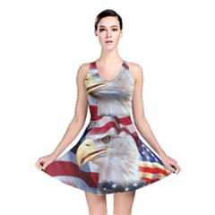 United States Of America Images Independence Day Reversible Skater Dress
