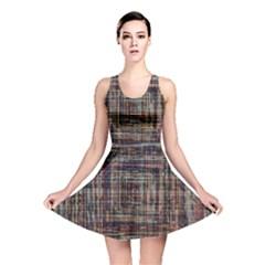 Unique Pattern Reversible Skater Dress