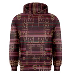 Ulos Suji Traditional Art Pattern Men s Pullover Hoodie