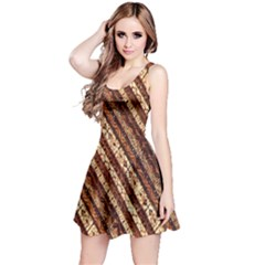 Udan Liris Batik Pattern Reversible Sleeveless Dress