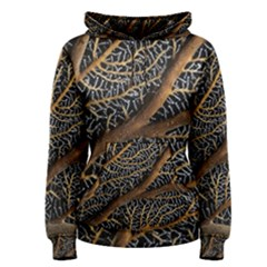 Trees Forests Pattern Women s Pullover Hoodie