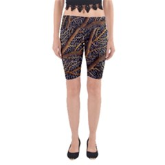 Trees Forests Pattern Yoga Cropped Leggings