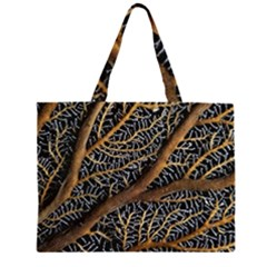 Trees Forests Pattern Large Tote Bag