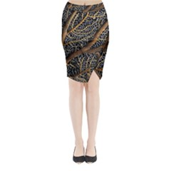 Trees Forests Pattern Midi Wrap Pencil Skirt