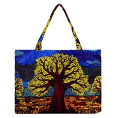 Tree Of Life Medium Zipper Tote Bag