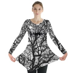 Tree Fractal Long Sleeve Tunic