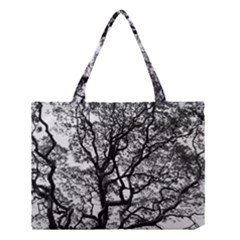 Tree Fractal Medium Tote Bag