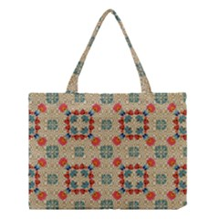 Traditional Scandinavian Pattern Medium Tote Bag