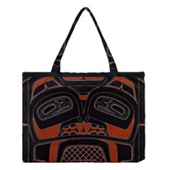 Traditional Northwest Coast Native Art Medium Tote Bag