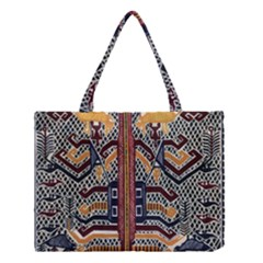 Traditional Batik Indonesia Pattern Medium Tote Bag