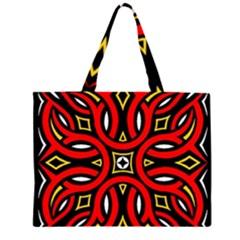 Traditional Art Pattern Large Tote Bag