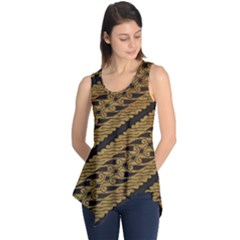 Traditional Art Indonesian Batik Sleeveless Tunic