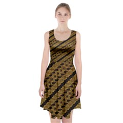 Traditional Art Indonesian Batik Racerback Midi Dress