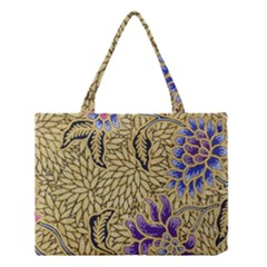 Traditional Art Batik Pattern Medium Tote Bag