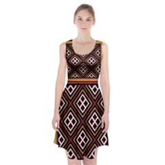 Toraja Pattern Pa re po  Sanguba ( Dancing Alone ) Racerback Midi Dress
