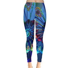 Top Peacock Feathers Leggings