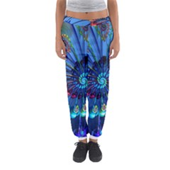 Top Peacock Feathers Women s Jogger Sweatpants