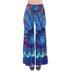 Top Peacock Feathers Pants