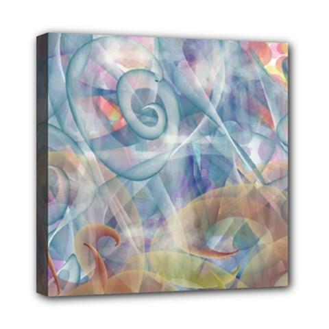 Spirals Mini Canvas 8  X 8