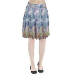 Spirals Pleated Skirt