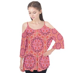12 pointed star  Flutter Tees