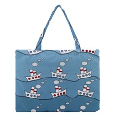 Boats Medium Tote Bag