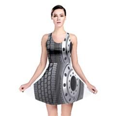 Tire Reversible Skater Dress
