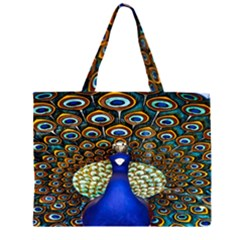 The Peacock Pattern Large Tote Bag