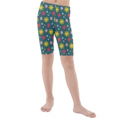 The Gift Wrap Patterns Kids  Mid Length Swim Shorts