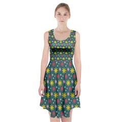 The Gift Wrap Patterns Racerback Midi Dress