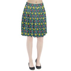 The Gift Wrap Patterns Pleated Skirt