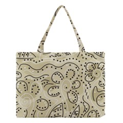 Floral Decor  Medium Tote Bag