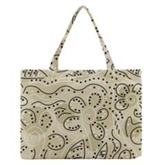 Floral decor  Medium Zipper Tote Bag