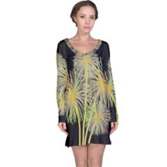 Dandelions Long Sleeve Nightdress